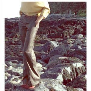 Anthropologie Elevenses Consonant wide leg pants
